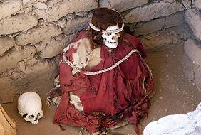 Séjour sur la cote sud du Pérou  le cimetière de Chauchilla à Nazca
