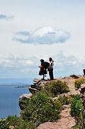 Ile de Taquile Lac titicaca agence de locale au pérou