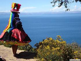 Climat à Puno Lac Titicaca au Pérou