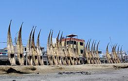 Séjour sur la cote nord du Pérou Huanchaco - Station balnéaire