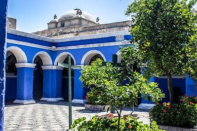 Vacances au Pérou le Couvent de Santa Catalina à Arequipa