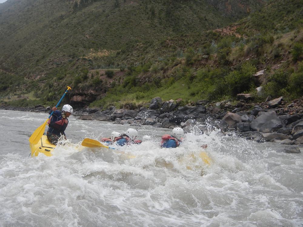 Rafting au Pérou, sensation et aventure