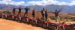 Sport au Pérou Quad dans la Vallée Sacrée à Cusco