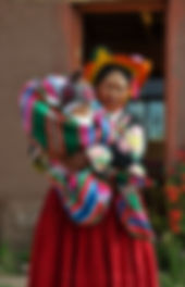Rencontree famille Lac Titicaca Peninsule Capachica