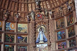 Vacances au Pérou l'église et couvent San Francisco à Arequipa