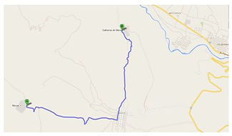 Carte de Moray à Maras