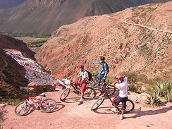 Salines de Maras en VTT Vélo