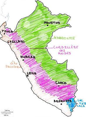 Partir au Pérou, la côte, la Cordillére, l'Amazonie