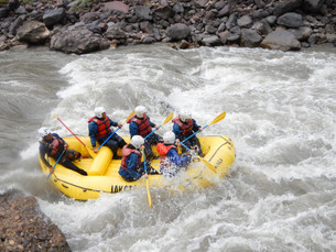 Rafting sur le Río Urubamba