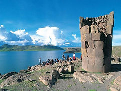 Sillustani Site pré-inca agence de voyage au Pérou