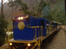 Train pour le Machu Picchu, Aguas Calientes