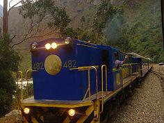 Train Machu Picchu au Pérou