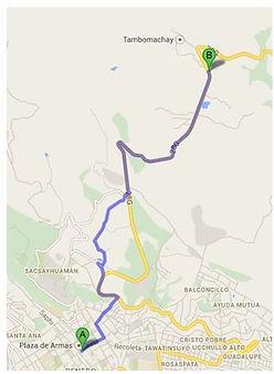 Aller à pied à Puca Pucaraà Cusco