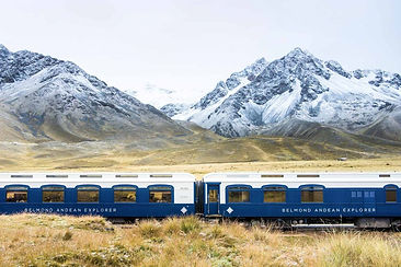 Voyager en train Andean Explorer Cusco Puno