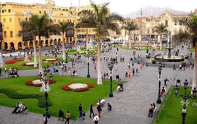 Vacances au Pérou la  Plaza Mayor de Lima