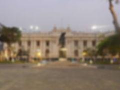 Circuit Sur-mesure voyage au Pérou Plaza San Bolivar à Lima