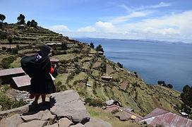 Ile de Taquile Lac titicaca circuit au Pérou