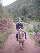 Randonnée à cheval à Huchuy Qosqo
