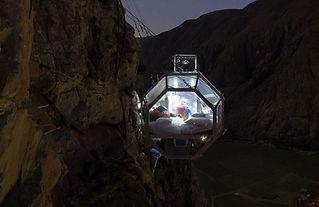 Aventure au pérou Skylodge -Dormir à 120m de haut