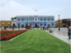 Séjour sur la cote nord du Pérou le Palais Municipal de Trujillo