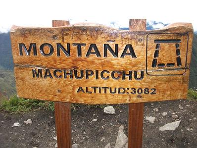 Sommet de la Montagne du Machu Picchu