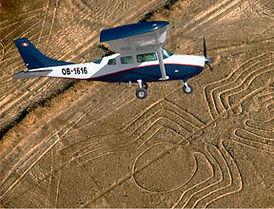 Voyage découverte Pérou survol des géoglyphes de Nazca