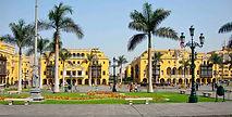 La place Mayor de Lima, la place centrale du centre historique