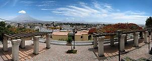 Circuit sur mesure au pérou le Quartier de Yanahuara à Arequipa