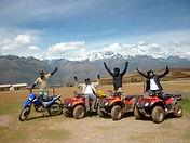 Aventure et sport à Cusco, Quad au Pérou