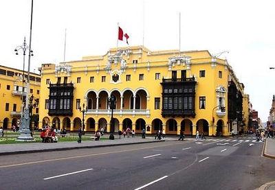 Voyage à la carte le palais Municipal de Lima