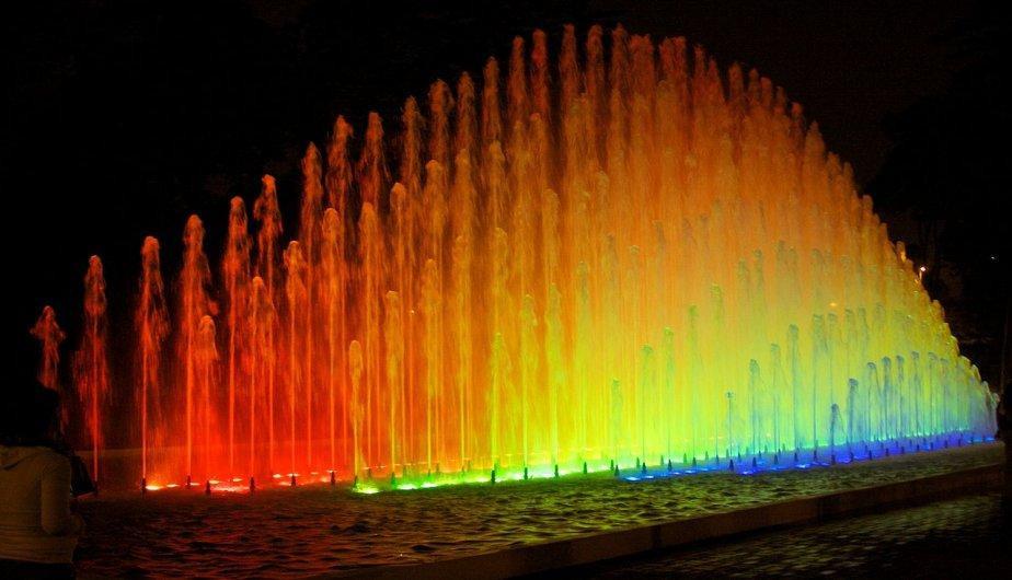 Le circuit magique de l'eau à Lima