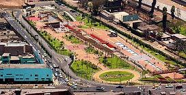 Visiter et à voir Parc de la Muralla de Lima