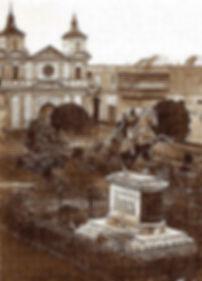 Voyage et vacances au Pérou Plaza San Bolivar à Lima