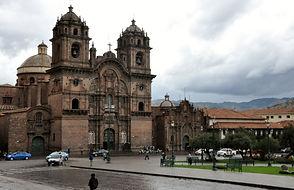 Visite eglise de la compagnie de Jesus au Pérou