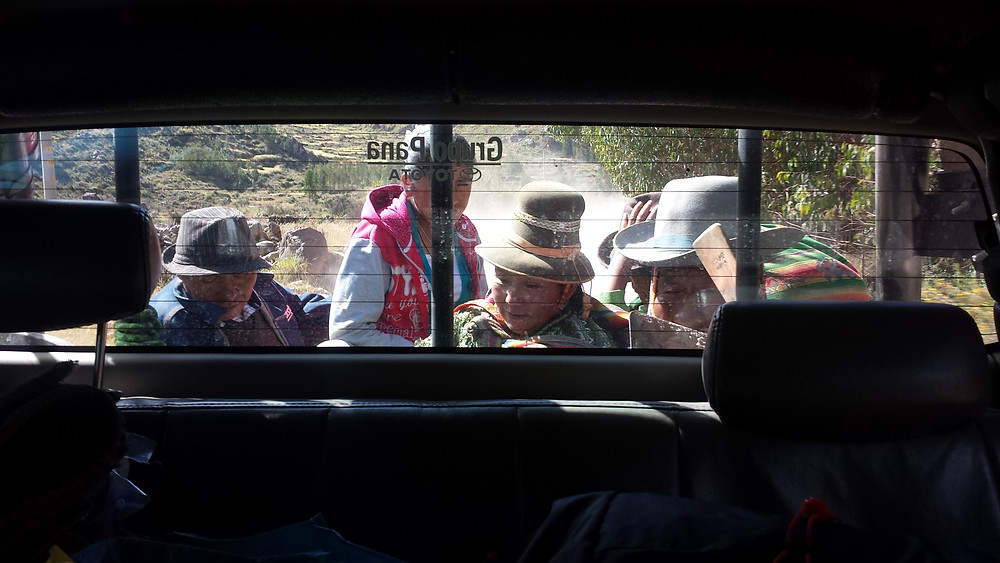 Co-voiturage au Pérou
