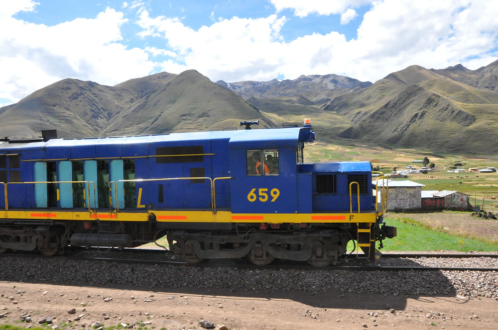 Andean Explorer, le train de luxe, Cusco - Puno