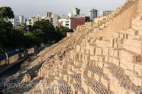 Voyage et vacances au Pérou les ruines de Huaca Pucclana à Lima