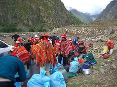 Trekking du Chemin de l'Inca Km 82, au Machu Picchu