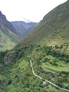 Randonnée Trekking du Chemin de l'Inca Km 82, au Machu Picchu
