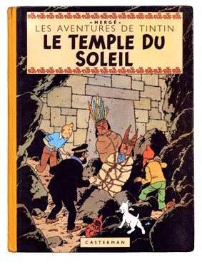 Le Temple du Soleil, sur les traces de Tintin