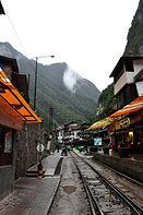 Ville d'Aguas Calientes Pérou Machu Picchu