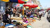 marché aux herbes médicinales,  le marché des sorciers, à voir au Pérou