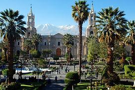 Visiter et à voir la Cathédraled'Arequipa