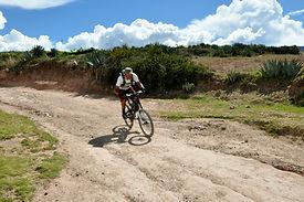 Vtt vélo aux salines de Maras