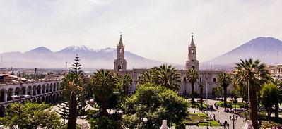 Voyage culture et découverte au Pérou la Cathédraled'Arequipa