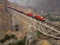 Train au Pérou