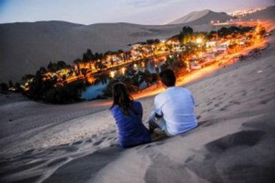Vacances au Pérou oasis de Huacachina à Ica