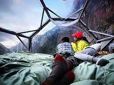 Sensation forte Via Ferrata au pérou Skylodge -Dormir à 120m de haut