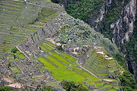 La citadelle Inca du Machu Picchu
