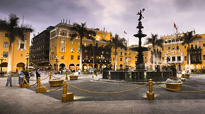 Circuit sur mesure au Pérou la  Plaza Mayor de Lima